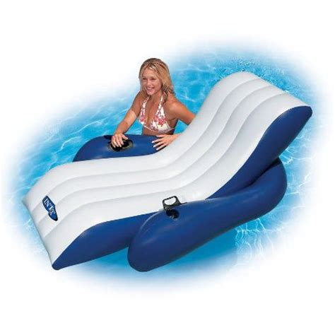 Floating Recliner Lounge by Pool Float Pool