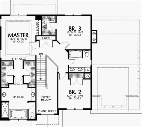house plans master on one story house plans two master bedrooms