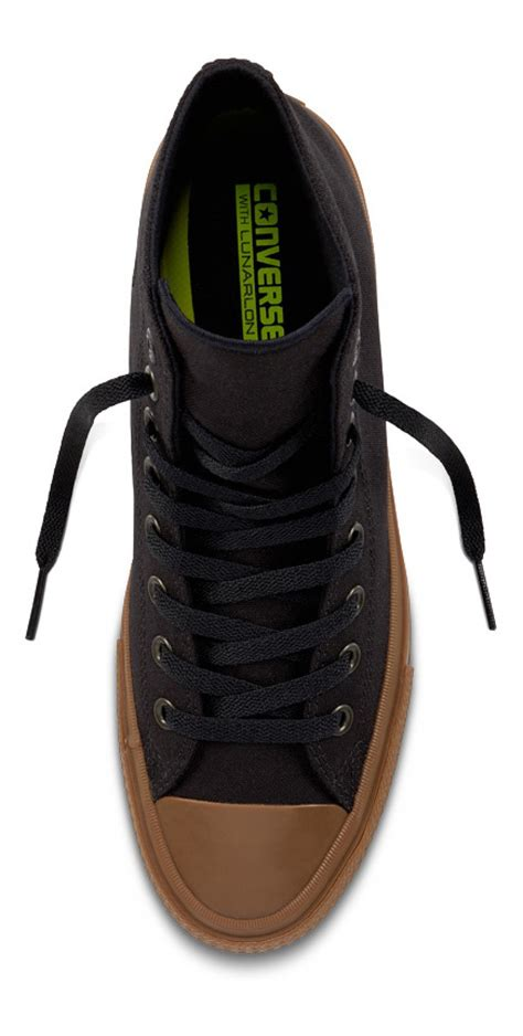 Converse Chuck Hi Top Gume Sole shopping for converse chuck ii hi top black black gum sale converse shoes