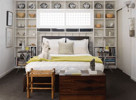 bed bookcase contemporary bedroom colorado homes