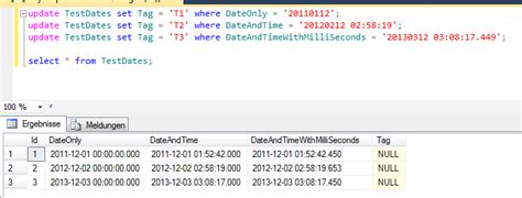 format date to mysql can t update datetime column in ms sql table
