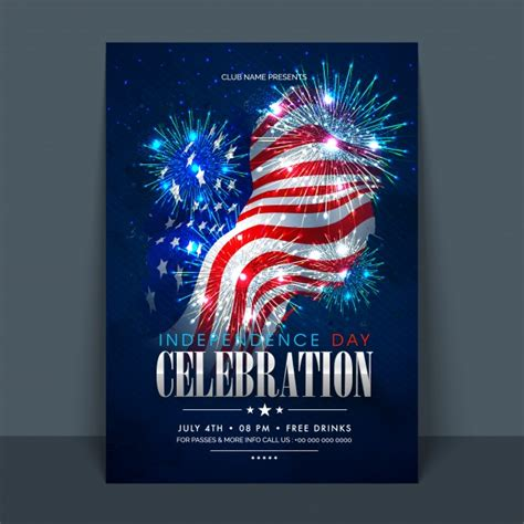 independence day flyer 4th of july american independence day celebration flyer