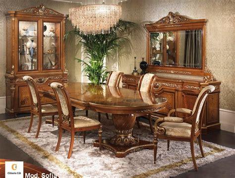 mobili per sala da pranzo classici arredo classico per sala da pranzo tavolo intarsiato