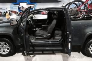 2015 chevy colorado extended cab interior