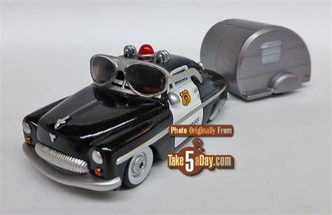 Disney Cars 3 Sheriff mattel disney pixar cars sheriff road trip take five a day