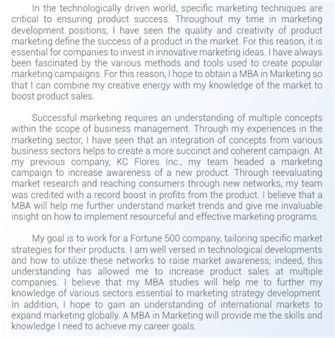 How Do I Use My Mba by What Are Some Exles For Sop Writing For Mba Quora