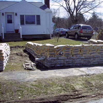 cheap retaining wall