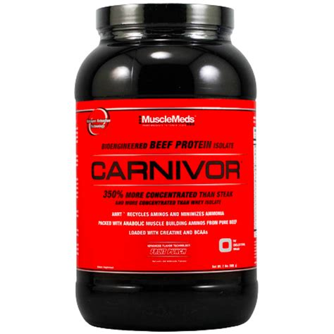 Whey Carnivor carnivor beef protein 2lbs 900g musclemeds