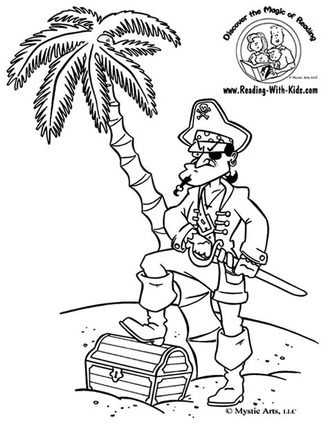 COLORING BOOK TREASURE CHEST « Free Coloring Pages