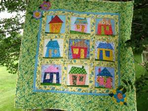 you to see wonky house quilt by 2strings