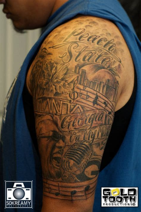 georgia tattoos ronnie on my mind 1 picture at