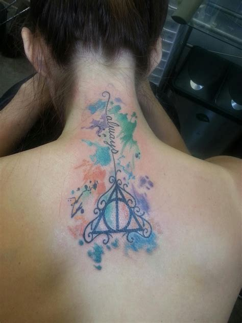 deathly hollows tattoo my harry potter deathly hallows by boag