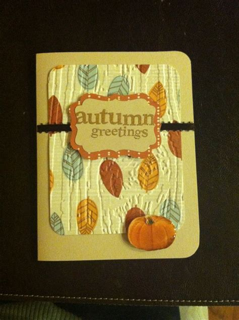 Thanksgiving Cards Handmade - my handmade thanksgiving card handmade cards