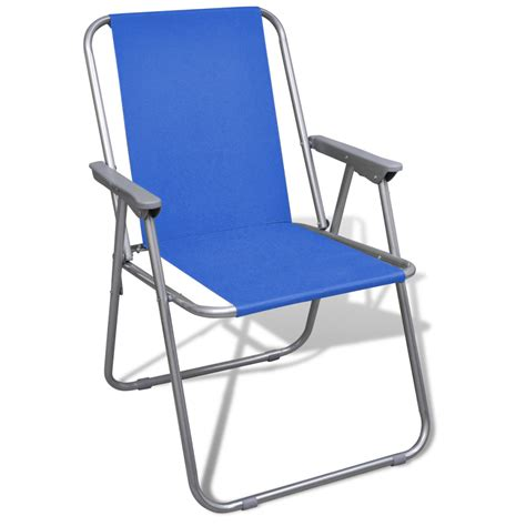 Folding Chairs Outdoor by Vidaxl Co Uk Folding Chair Set 2 Pcs Cing Outdoor