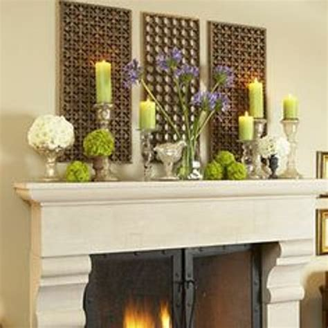 ways to decorate home how to decorate a fireplace mantel for spring 5 ways