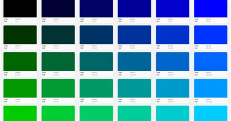 blue color code building with web colors codes tools and design tips