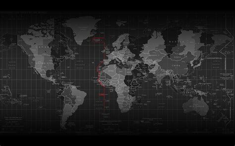 Black And White Map Wallpaper | download wallpapers download 2560x1600 black and white
