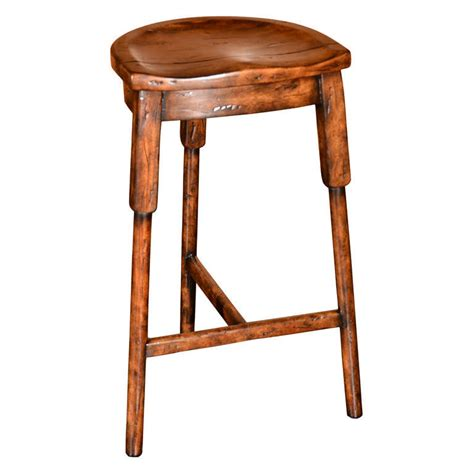 saddle bar stools saddle seat bar stool at 1stdibs