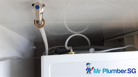 Mr H2o Plumbing by Washing Machine Water Inlet Hose Plumber Singapore