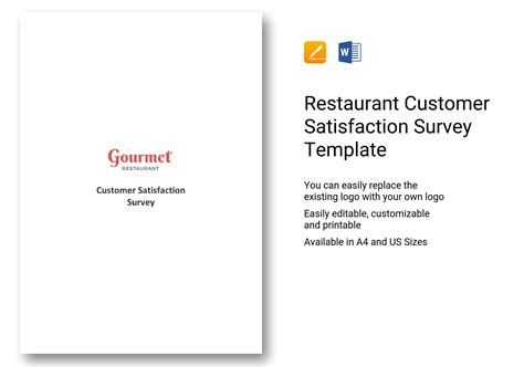 restaurant customer satisfaction survey template questionnaire on restaurant customer satisfaction survey