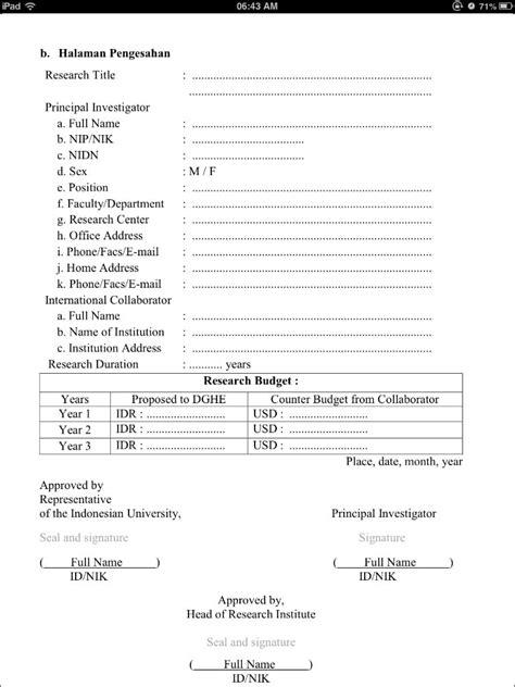 format abstrak penelitian panduan penelitian kerjasama luar negeri dan publikasi