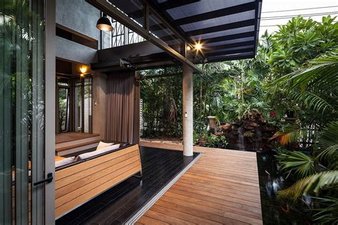 Modern Home Design Elements by Industrial And Modern Side By Side Two Houses In Bangkok