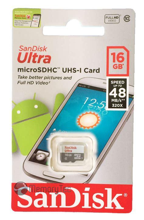 Sandisk Ultra Micro Sdhc 16gb cart 227 o de mem 243 ria microsdhc 16gb sandisk mobile ultra