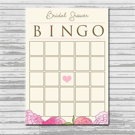 printable bridal shower bingo bridal shower bingo bingo and bingo cards on pinterest