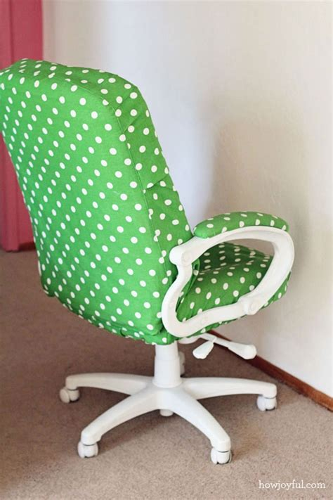 Recovering Chairs by Recover An Office Chair Crafts Projects