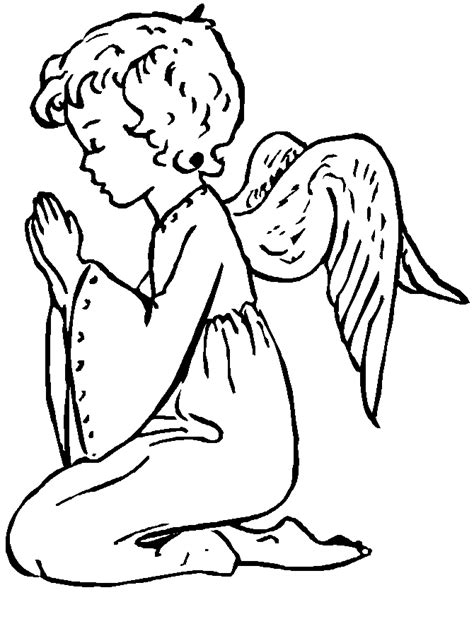 coloring page guardian angel prayer guardian angel coloring page catholic the coloring pages