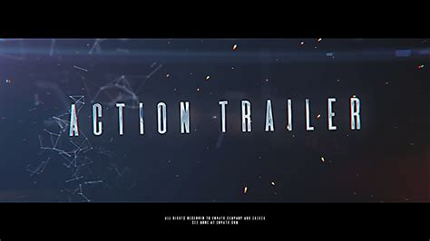 after effects trailer templates trailer abstract after effects templates f5