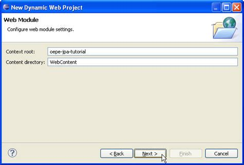 tutorial java spring eclipse oepe spring jpa tutorial step 1 setup database and