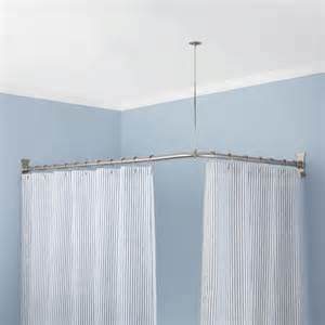 Bathtub Curtain Rod by Custom Lengthening For Curved Shower Rods Curved Shower