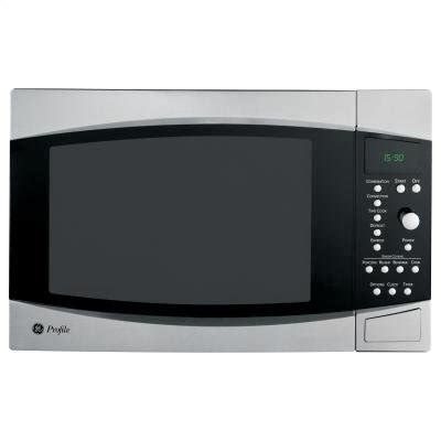 ge oven: ge profile microwave and convection oven
