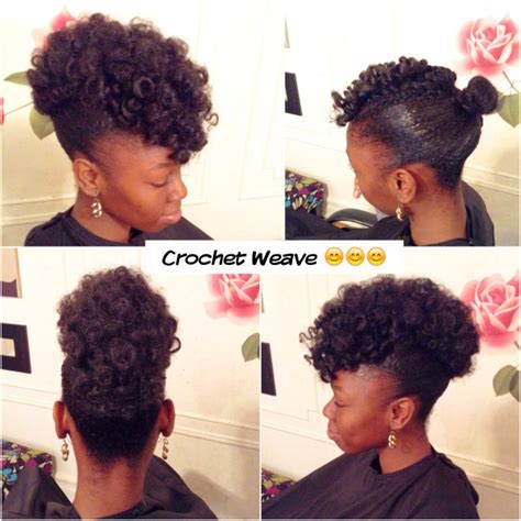 Updo Hairstyles With Weave by Crochet Weave Updo Hairstyle Www Simsimstyles