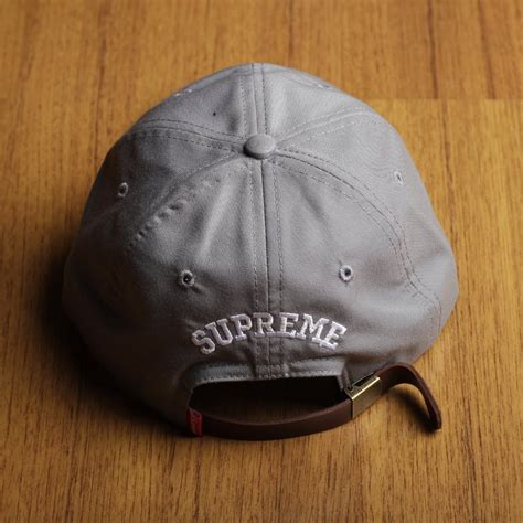 Topi Supreme Grey jual topi snapback polocap 5 panel skate supreme s logo grey premium di lapak golden storebdg