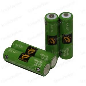 batteries for solar lights 20 x aa ni cd 600mah solar lights rechargeable battery ebay