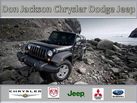 Don Jackson Chrysler Union City Ga by Don Jackson Chrysler Dodge Jeep Ram 3950 Jonesboro Rd