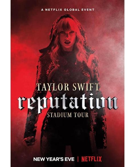 taylor swift concert netflix taylor swift the zombie hunter see the official poster