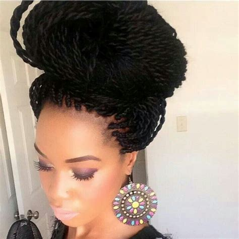 senegalese twists in a bun 1000 images about sengelase havana crochet hairstyles