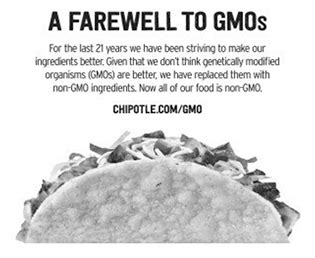 say no to gmos the delicious revolution chipotle says it dropped gmos now a court will decide if that s bullshit jones