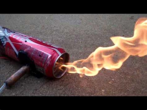 coke can jet engine youtube