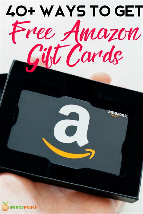 Where Can I Get Money For Gift Cards - 40 ways to get free amazon gift cards 2018 guide money peach