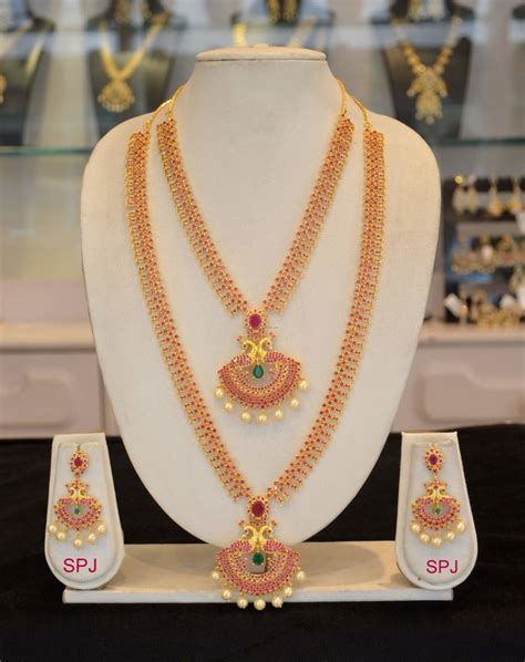 Indian Wedding Jewellery by South Indian Bridal Jewellery Designs Designs Page 2 Of