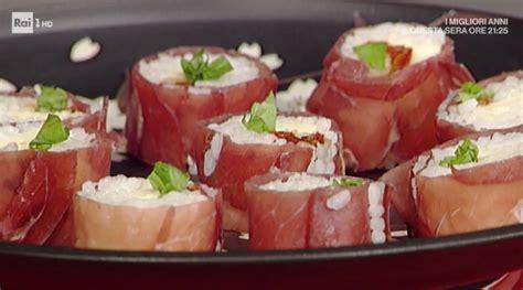 cucina giapponese ricette facili la prova cuoco ricette sprint 28 aprile rotolini alla