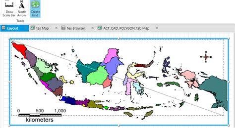 cara layout peta di mapinfo tutorial teknologi geografi dan informasi layout