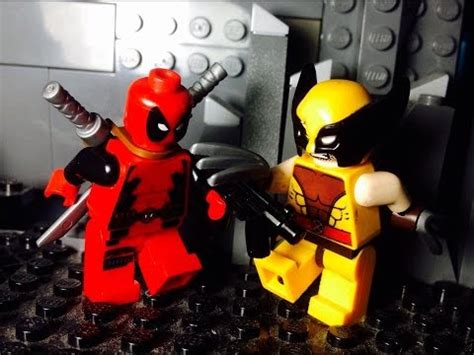 imagenes de lego marvel wolverine lego deadpool vs wolverine youtube