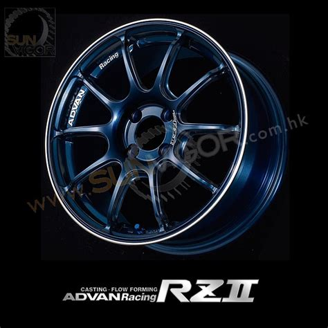 Wheels Next 3 sun vigor advan racing rzii 5x114 3 wheels by