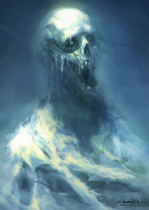 deviantart painting ghost inside the fridge 30 minute speedpainting by
