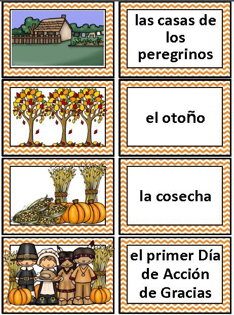 printable thanksgiving cards in spanish 422 best images about dual language on pinterest english